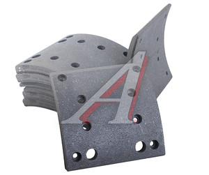 Накладка тормозной колодки MAN MERCEDES задней/передней стандарт (410х183) (8шт.) VALEO 219487, 19495, 0345065