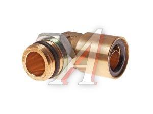 Соединитель трубки ПВХ,полиамид d=16мм (наружная резьба) М22х1.5 угольник латунь CAMOZZI 9502 16-M22X1.5