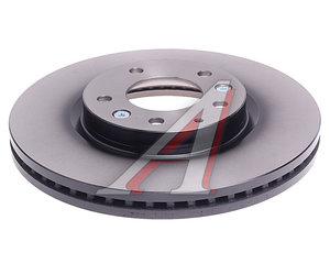 Диск тормозной MAZDA CX-7,CX-9 (07-) передний (1шт.) TRW DF4958S, L206-33-25XA