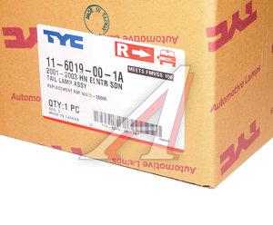Фонарь задний HYUNDAI Elantra (00-) правый TYC 11-6019-00-1A, 321-1934R-AS, 92402-2D000