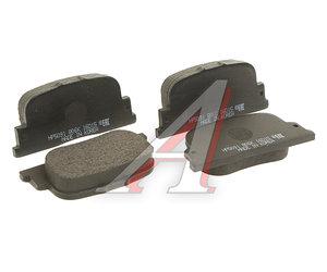 Колодки тормозные TOYOTA Camry,Corolla (01-01) (1.8 VVTi) задние (4шт.) HSB HP5091, GDB3278, 04466-32040