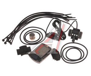 Велокомпьютер 9 функций проводной черный ECHOWELL U9, 4650066002744