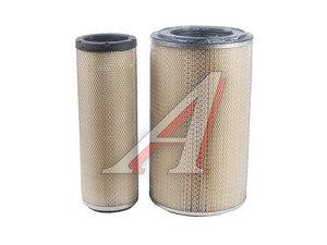 Элемент фильтрующий КАМАЗ воздушный комплект ЕВРО-3 ЭКОФИЛ 725-1109560, EKO-01.34