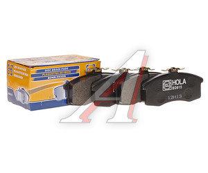 Колодки тормозные ВАЗ-1111 передние (4шт.) HOLA 1111-3501080, BD815