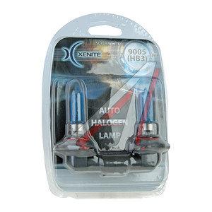 Лампа 12V HB3 65W P20d блистер (2шт.) Super White XENITE 1007040