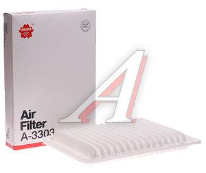 Фильтр воздушный TOYOTA Camry (06-) (2.4),(11-) (2.5) SAKURA A3303, N1322108, 17801-0H050/17801-28030