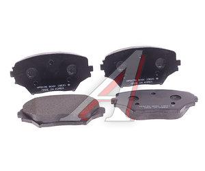 Колодки тормозные TOYOTA Rav 4 (00-) передние (4шт.) HSB HP5035, GDB3251, 04465-42130