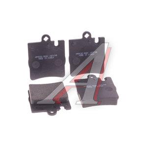 Колодки тормозные MERCEDES W210, W203,SLK230 задние (4шт.) HSB HP9533, GDB1334, A0024205220