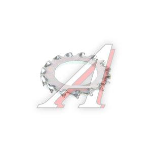 Шайба 8.15х13.8х0.8 стопорная с внешними зубьями БЕЛЗАН 1/06156/73