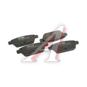 Колодки тормозные MAZDA 6 (05-) задние (4шт.) TRW GDB3517, GPYB-26-48Z