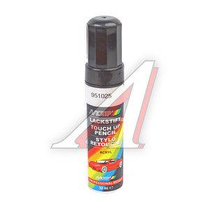Краска черная глянцевая с кистью 12мл MOTIP MOTIP 900105, black glossy 12ml