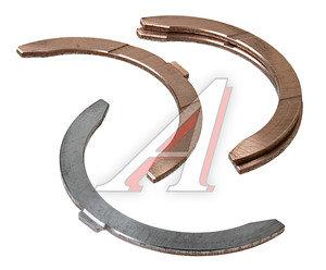 Полукольцо опорное коленвала КАМАЗ комплект бронза (2+2шт.) ДААЗ 740.1005183/84, 740-1005183