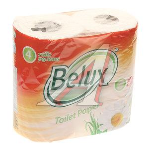 Бумага туалетная (4 рулона в упаковке) 41112
