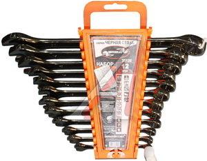 Набор ключей комбинированных 6-22мм 12 предметов в холдере изгиб 15град. черная сталь АВТОДЕЛО АВТОДЕЛО 35120, 14226