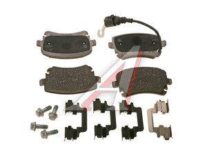 Колодки тормозные VW Transporter 5 задние (4шт.) OE 7H0698451, GDB1557, 7H0698451/7H0698451B