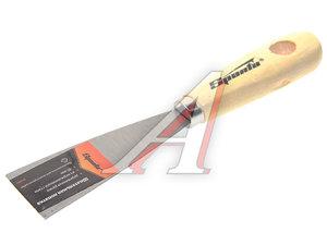 Шпатель 40мм нержавеющая сталь деревянная ручка SPARTA 852065