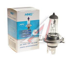 Лампа 12V H4 60/55W P43t-38 HNG 12443, HNG-12443, АКГ 12-60+55-1