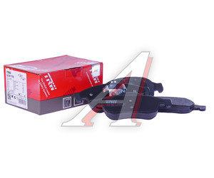 Колодки тормозные RENAULT Duster (10-),Megane (10-) передние (4шт.) TRW GDB1789, 410607115R