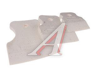 Набор шпателей 40-60-80мм резина белая 3 предмета MATRIX 858275