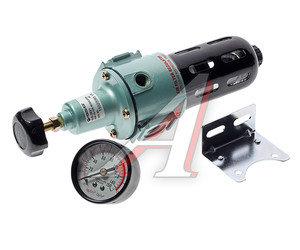 "Фильтр 1/4"" тонкой очистки 5Мк с регулятором и манометром для пневмосистем FORSAGE SB-2021, FS-SB-2021"