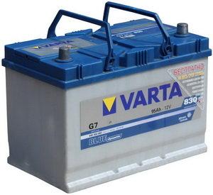 Аккумулятор VARTA Blue Dynamic 95А/ч обратная полярность 6СТ95 G7, 595 404 083 313 2