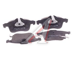 Колодки тормозные OPEL Astra G,H,Zafira A передние (4шт.) HSB HP9653, GDB1668, 1605992