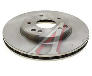 Диск тормозной MERCEDES C (W202),E (W210) передний (1шт.) KORTEX KD0065, DF4180, A2034210312