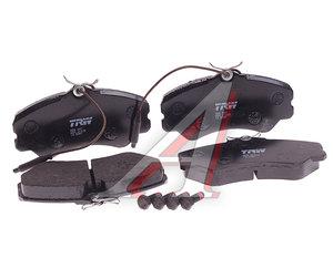 Колодки тормозные PEUGEOT 405 передние (4шт.) TRW GDB447, 4251.05