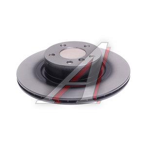 Диск тормозной BMW X3 (F25),X4 (F26) задний вентилируемый (1шт.) TRW DF6352S, 24.0120-0234.1, 34206868936