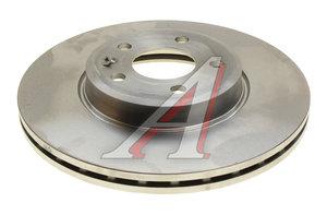 Диск тормозной AUDI A4 (07-),A5 (07-) передний (1шт.) BREMBO 09.A820.10, DF4866S, 8K0615301