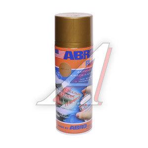 Краска золотая вспышка супер металлик аэрозоль 473мл Rus ABRO ABRO Rus SPOM-176-R, SPOM-176-R