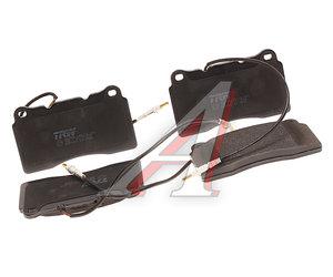 Колодки тормозные PEUGEOT 406 (96-04) (1.8/1.9) передние (4шт.) TRW GDB1431, 4252.07