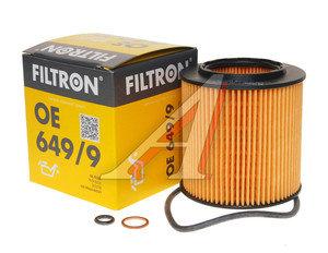 Фильтр масляный BMW 5 (E60),3 (E90),1 (E81),X3 (E83),X5 (E70),7 (E65),6 (E63) FILTRON OE649/9, OX387D, 11427566327