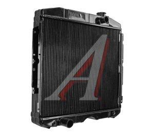 Радиатор ГАЗ-3307 медный 2-х рядный под вязкостную муфту ЛРЗ 3307-1301010, 121.1301010