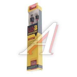 Кабель micro USB 2м черный силиконовый LDNIO LDNIO LS-022BK, LDNIO LS02