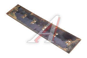 Нож ДТ-75 на отвал (прямой) 12-отверстий комплект 3шт. сталь 65Г (пружинная) 840х12х180