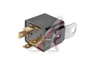 Реле электромагнитное 12V 4-х контактное 30А замык. с кронштейном АВАР 75.3777-10