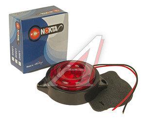Фонарь габаритный LED 24V, круглый красный (d=55мм 10-светодиодов) АВТОТОРГ НК-0049/LED к