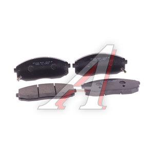 Колодки тормозные HYUNDAI HD35 (17-) KIA Bongo 3 (06-) (2.9-J3) (1.4t) передние (4шт.) HSB HP1024, 58101-4EB00