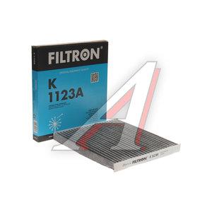 Фильтр воздушный салона TOYOTA Corolla (02-) угольный FILTRON K1123A, LAK157