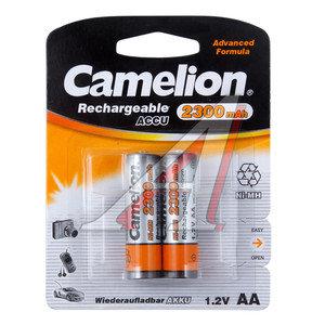 Батарейка AA HR6 1.2V аккумулятор Ni-MH 2300mAh блистер (2шт.) CAMELION C-230AAKCбл
