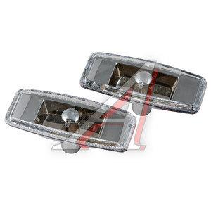 Повторитель поворота 12V Chrome универсальный комплект 2шт. GLIPART GT-50546
