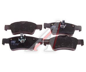 Колодки тормозные MERCEDES E (W211,W212),S (W220,W221) задние (4шт.) TRW GDB1546, A0064200120/A0054209320