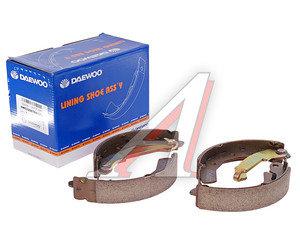 Колодки тормозные DAEWOO Matiz (98-) CHEVROLET Spark (05-) задние барабанные (4шт.) DAEWOO 5320070810000, GS8645