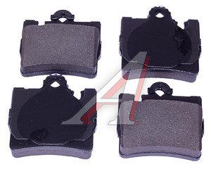 Колодки тормозные MERCEDES S (W220) (98-05),CL (C215) AMG задние (4шт.) SANGSIN SP2192, GDB1455