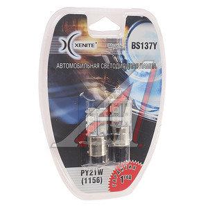 Лампа светодиодная 12V PY21W BA15S блистер (2шт.) XENITE 1009303, А12-21-3