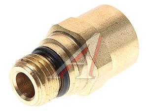 Соединитель трубки ПВХ,полиамид d=12мм (наружная резьба) М14х1.5 прямой латунь CAMOZZI 9512 12-M14X1.5