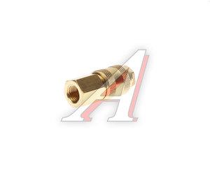 """Переходник для компрессора F1/4"""" быстросъемный с клапаном внутренняя резьба BSE1-2SF, PN-BSE1-2SF"""
