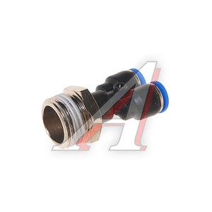 """Фитинг для пластиковых трубок 1/2"""" Y-образный 6мм с наружной резьбой ROCK FORCE RF-SPX06-04"""