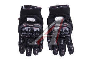 Перчатки мото MCS-01 черные L MCS-01 black L, 4620757438299